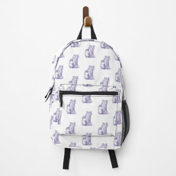 Sitting bear Backpack