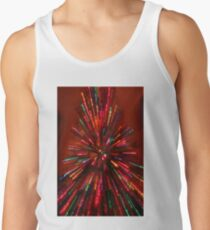 red crazy christmas lights Tank Top