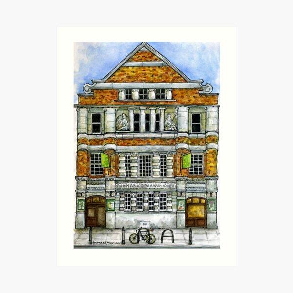 Fulham Baths, SW6 Art Print