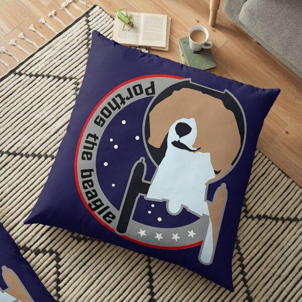 Porthos - Star Trek, Enterprise Floor Pillow