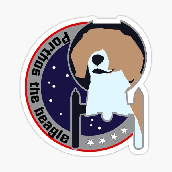 Porthos - Star Trek, Enterprise Sticker