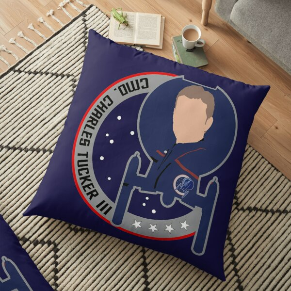 Commander Charles Tucker the 3rd - Star Trek, Enterprise Floor Pillow