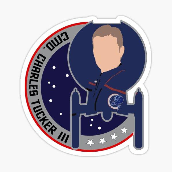 Commander Charles Tucker the 3rd - Star Trek, Enterprise Sticker