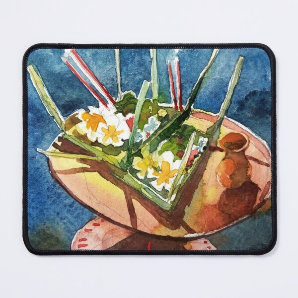 Balinese Offering #1 Mouse Pad