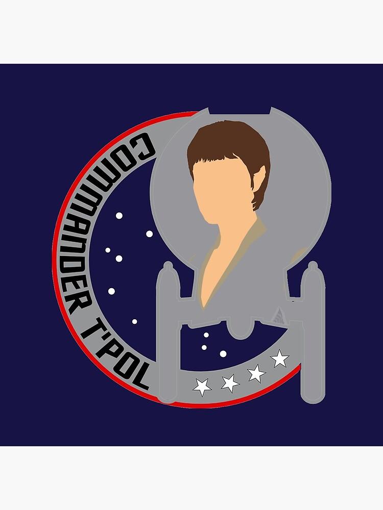 Commander T'Pol - Star Trek, Enterprise by Sutilmente