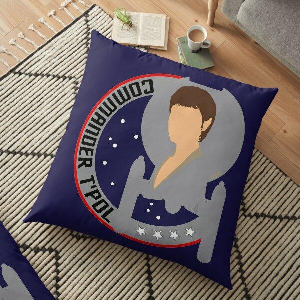 Commander T'Pol - Star Trek, Enterprise Floor Pillow