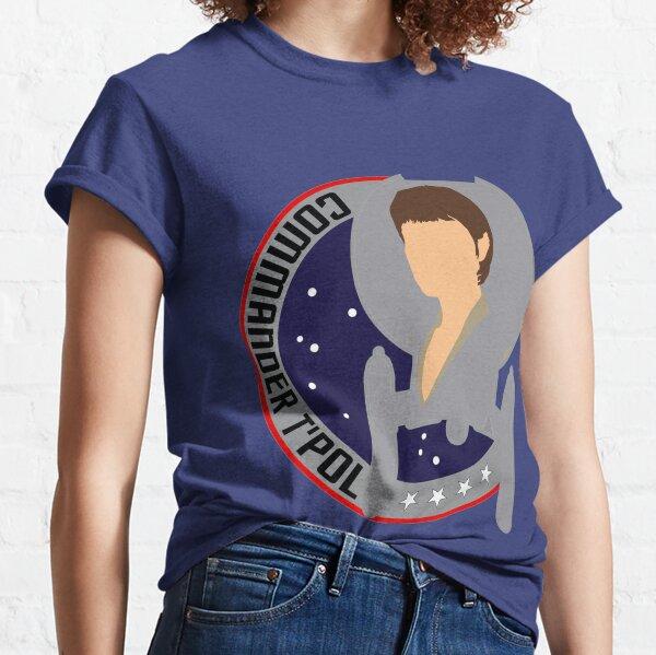 Commander T'Pol - Star Trek, Enterprise Classic T-Shirt
