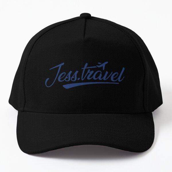Jess.Travel Logo Reverse Blue Baseball Cap