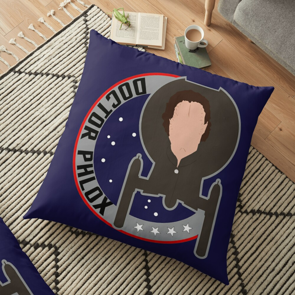 Dr. Phlox - Star Trek Enterprise Floor Pillow