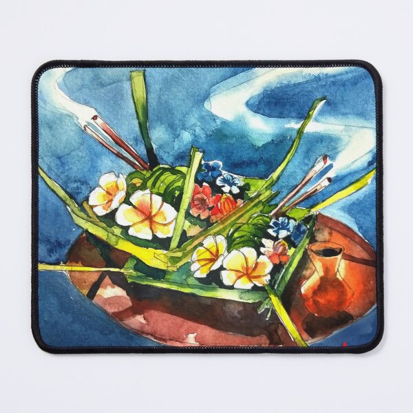 Balinese Offering #2 Mouse Pad