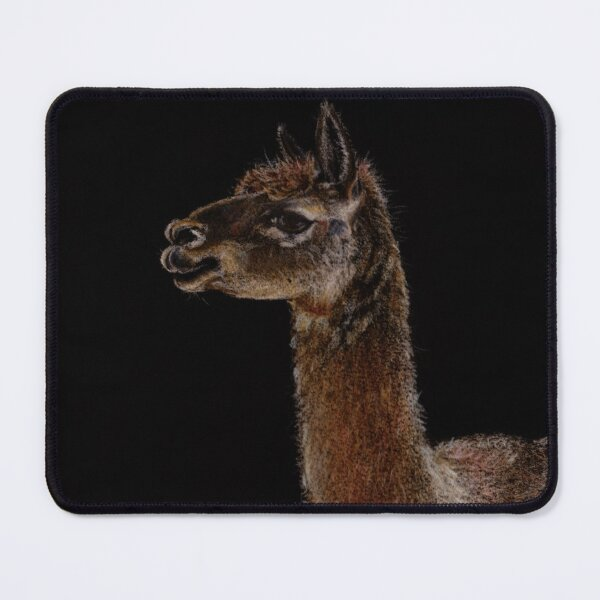 The Handsome Alpaca Mouse Pad