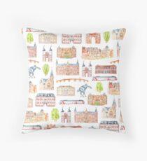 Heidelberg buildings Throw Pillow