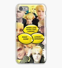 Lemon Gerard Way iPhone Case/Skin