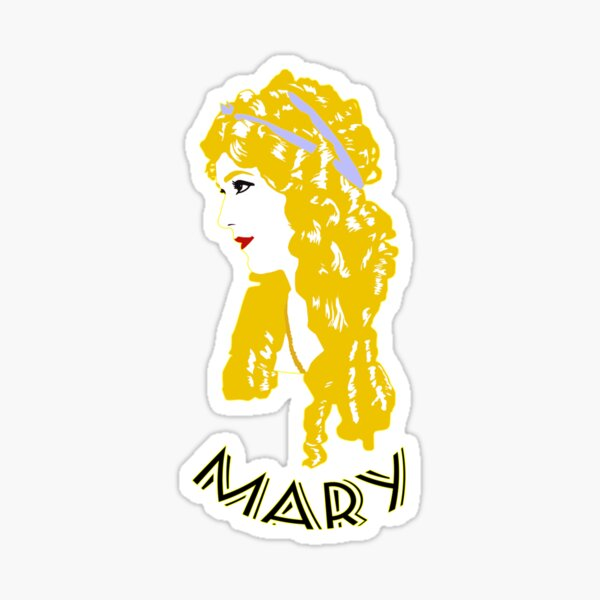 Mary Sticker