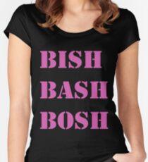 Bish Bash Bosh Women's Fitted Scoop T-Shirt