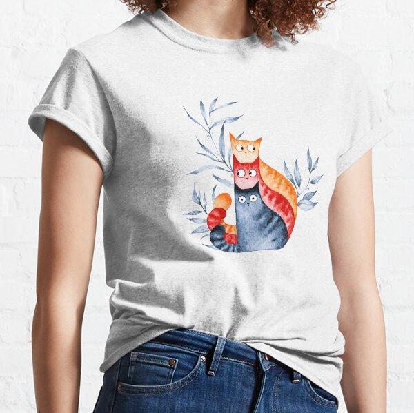 Cat Trio Classic T-Shirt