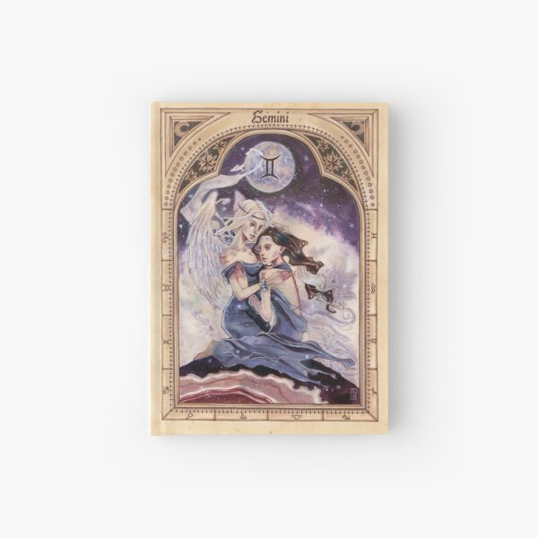 Gemini Zodiac Hardcover Journal
