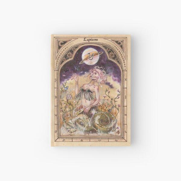 Capricorn Zodiac Hardcover Journal
