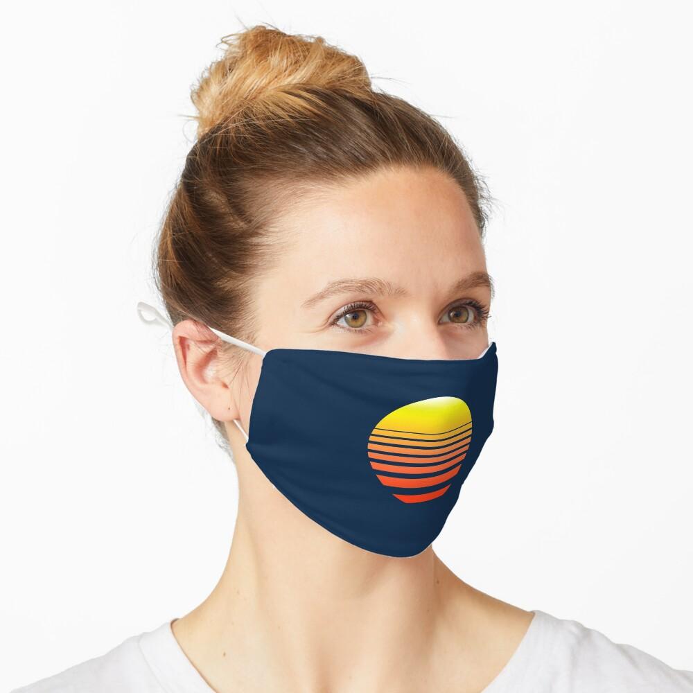 Synthwave Sunset Mask