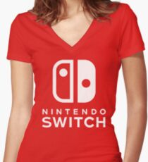 Switch Women's Fitted V-Neck T-Shirt