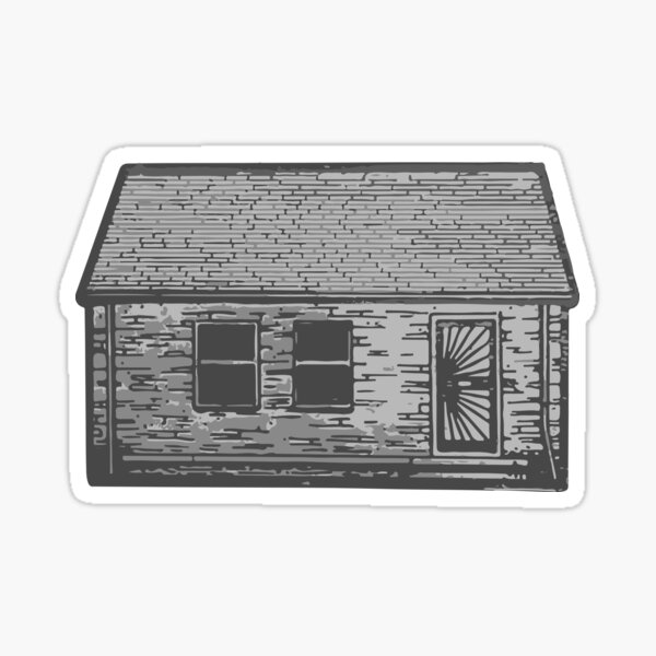Eminem - The Marshall Mathers LP (Childhood Home) Sticker
