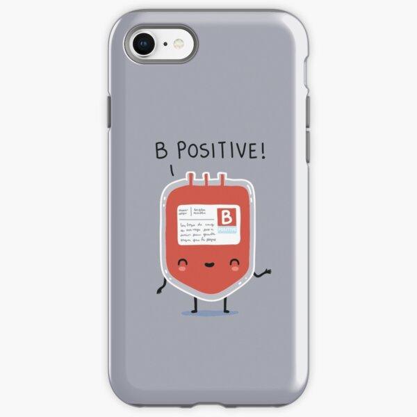 B positive iPhone Tough Case
