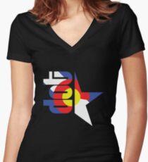 DotStar Studios x Colorado Love Fitted V-Neck T-Shirt