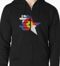 DotStar Studios x Colorado Love Zipped Hoodie