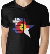 DotStar Studios x Colorado Love Men's V-Neck T-Shirt