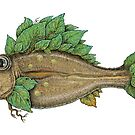 The Leafy Fish by Eugenia Hauss