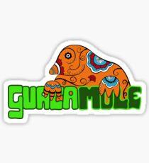 Guacamole - Mexican Pun Guaca Mole Sticker