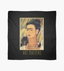 Frida Kahlo Self Portrait  Art Matters Scarf