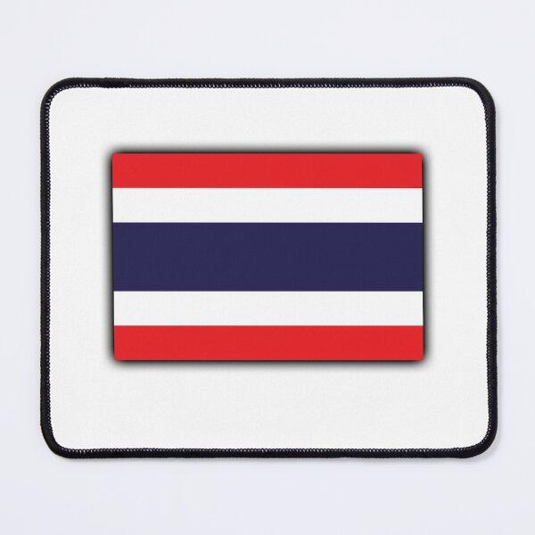 Thailand. THAI. Thai Flag, Flag of Thailand, flag of the Kingdom of Thailand. Mouse Pad