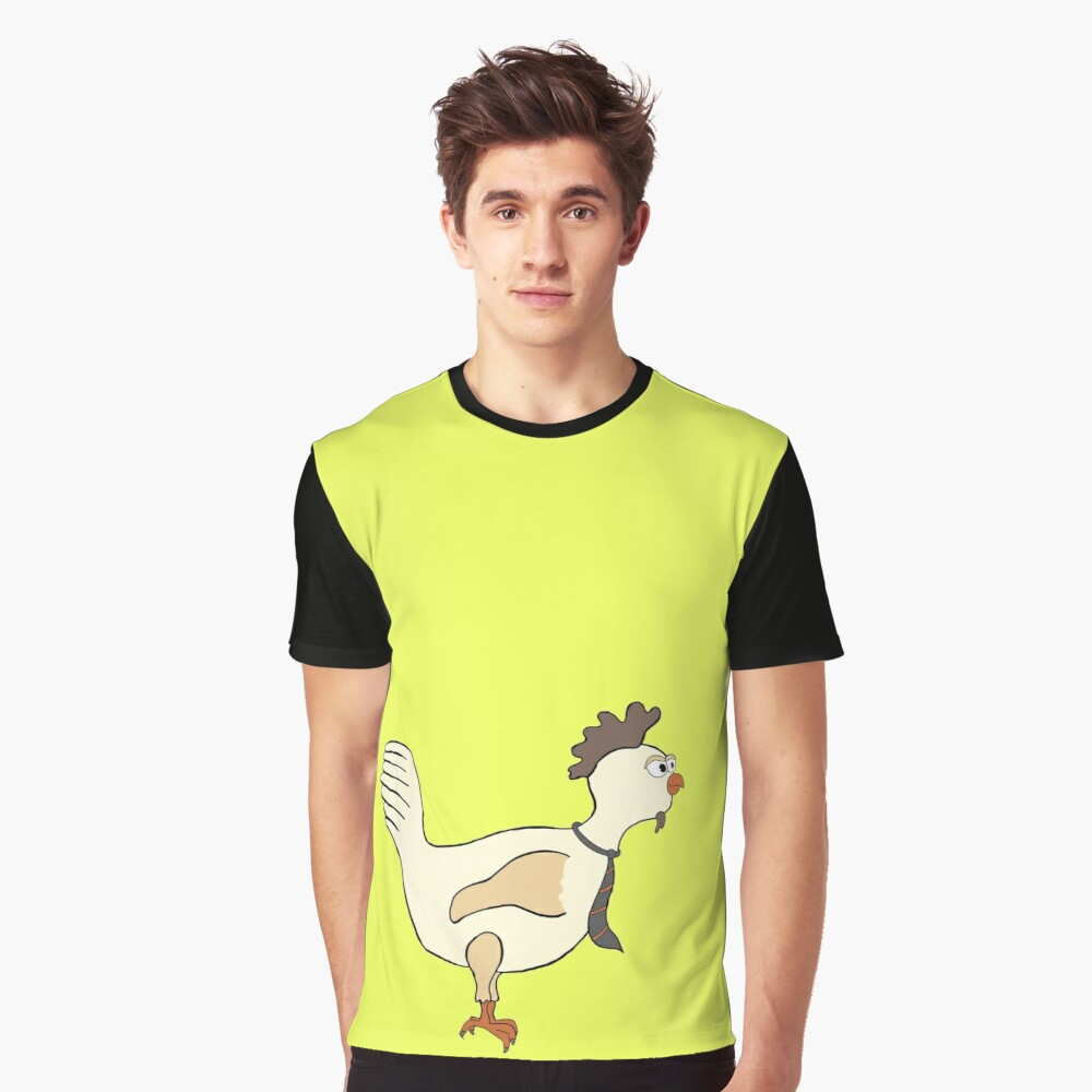 Chicken with a tie Graphic T-Shirt