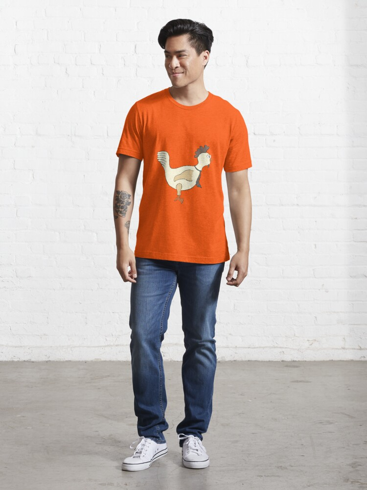 Alternate view of Chicken with a tie Essential T-Shirt