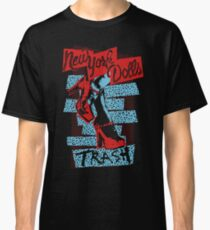 New York Dolls Trash Boots Classic T-Shirt