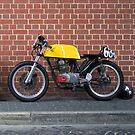 Honda Cafe Racer by Andre Gascoigne