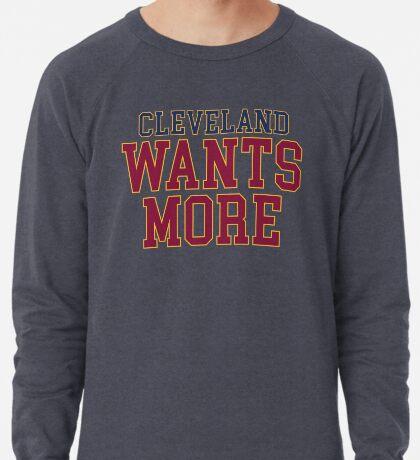 Cleveland will mehr Leichter Pullover