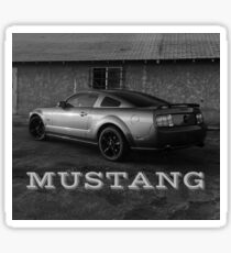 Mustang Bandito Sticker