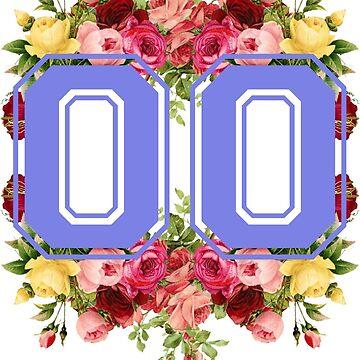 Vintage Floral Varsity #00 by EloiseDocking