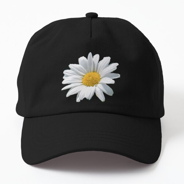 Daisy repeat pattern  Dad Hat