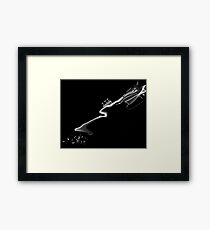Melt Down Your Guns and Make Music Framed Print
