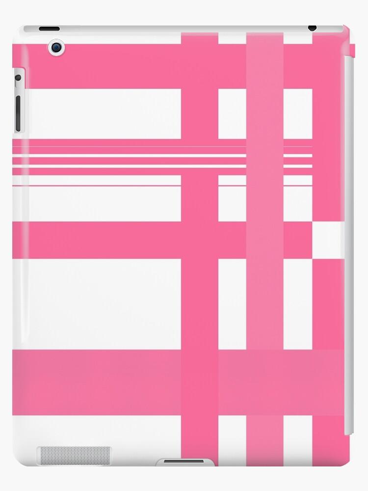 Pink plaid by siyi
