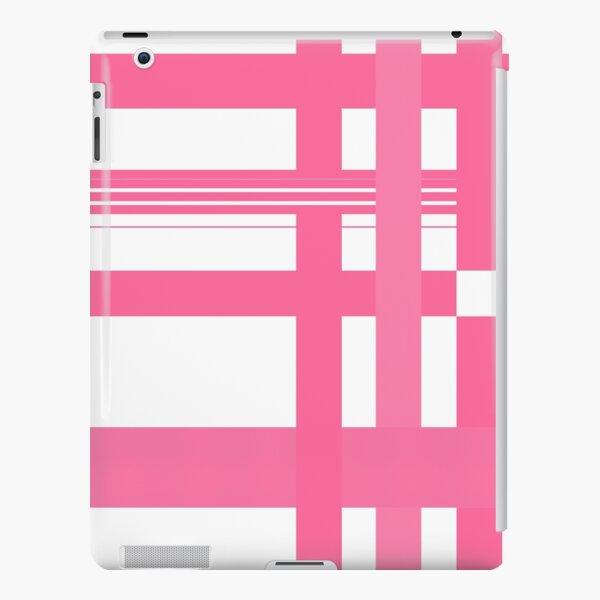 Pink plaid iPad Snap Case