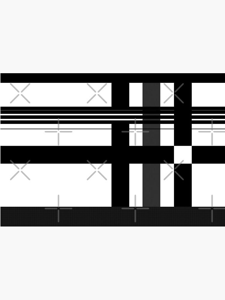 Black n' White plaid by siyi