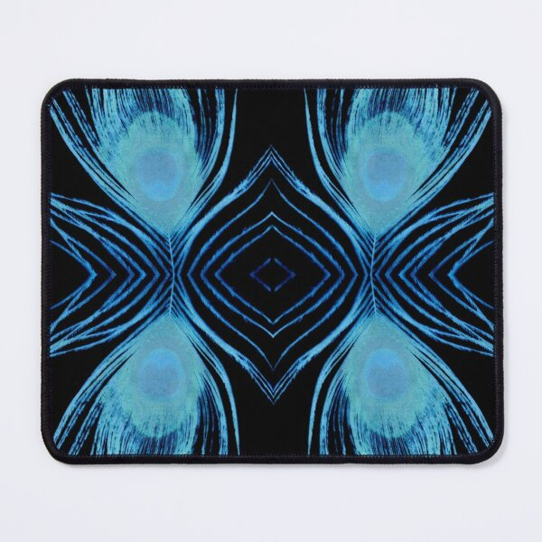 Peacock Night Mouse Pad
