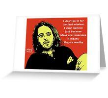 Tim minchin atheist greeting cards by djvyeates redbubble greeting card m4hsunfo