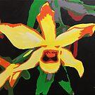 Yellow Orchid by HadleyNorman