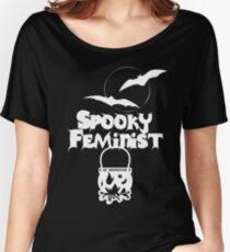 Spooky Feminist V1 Women's Relaxed Fit T-Shirt