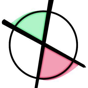 Pink/Green - Target by mademorgan